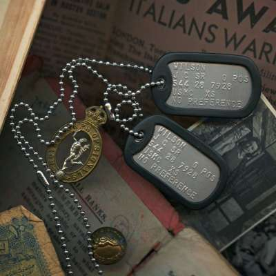 Current U.S. Military Dog Tags